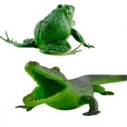 Nawani Set of Frog Crocodile Bath Toy for Kids
