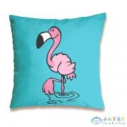 Nici: Flamingó Mintás Párna - 37 X 37 Cm, Világoskék (Nici, 41949)