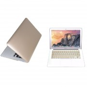 Case Carcasa + Protector De Teclado Para Macbook Pro 13'' Sin Touch Bar Model (A1708) -Oro