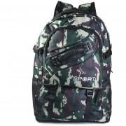 Mochila De Hombro Outdoor Shoulder Backpack-Camuflaje Del Bosque