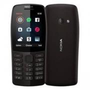 Мобилен телефон NOKIA 210 (TA-1139) Dual SIM BG RO BLACK, FM radio, MP3 player, 16OTRB01A06