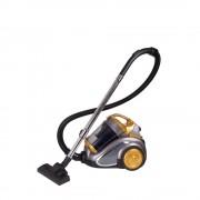 Aspirator fara sac Hausberg HB-2820AU, 2200 W, 4.5 L, Gri/Auriu
