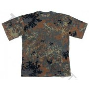 Max Fuchs M.F.H. T-Shirt (Färg: Flecktarn, Storlek: Large)
