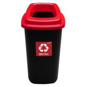 Plafor Бак для мусора Plafor SORT BIN 680 черный 45л