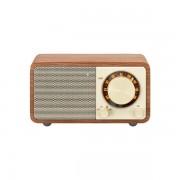 Bluetooth FM rádió, dióbarna, Genuine Mini WR-7
