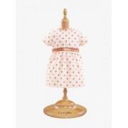 Vestido às bolas para boneca de 36 cm, Corolle rosa claro liso com motivo