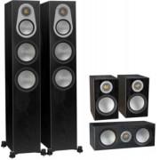 Pachete PROMO SURROUND - Monitor Audio - Silver 300 pachet 5.0 Black Oak