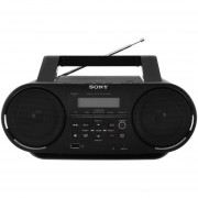 Radiograbadora Sony ZS-RS60BT CD Bluetooth NFC-Negro