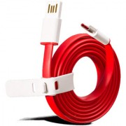 Hi Speed Premium Dash Flat Type C USB Charging and Data Transfer Cable for Gionee S6 Pro