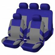 Univerzális üléshuzat garnitúra kék-szürke (osztható) Exlusive