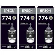 Original Epson T7741 Black Ink Pack of 3