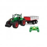 Távirányítós Traktor pótkocsival is 1:16 méret