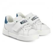Dolce & Gabbana Branded Sneakers Vit/Marinblå Barnskor 27 (UK 9)