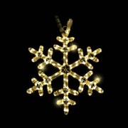 Luca connect 24 ropelight snowflake