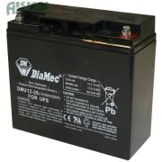 DIAMEC 12V 20Ah akkumulátor