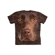 The Mountain All-over print t-shirt bruine Labrador