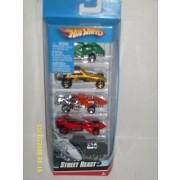 Hotwheels Street Beast 5 Pack