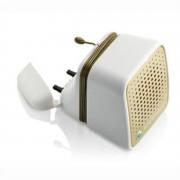 Sony Ericsson Petit haut-parleur portatif mps-30 blanc et doré