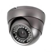 Dôme de surveillance IR AHD 720P / 1MP, 24 leds, 20m - Noir