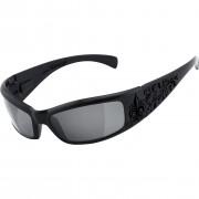 Helly Sonnenbrille Helly Bikereyes 410 Damen Sonnenbrille getönt schwarz