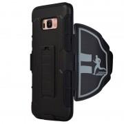 Samsung Galaxy S8 Multifunctional Sports Armband - Black