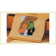 Erbesi Italia - Patura piquet BON BON mandarin