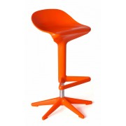 Replica Spoon Bar Stool - Orange