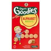 Biscuiti alfabet Organix Goodies, 5x25 g, de la 1 an