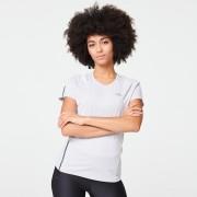 Kalenji T-SHIRT JOGGING FEMME RUN DRY+ GRIS CLAIR - Kalenji
