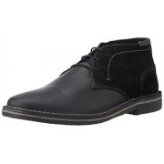 Steve Madden Men's Henrie Black Multi Leather Boots - 8 UK