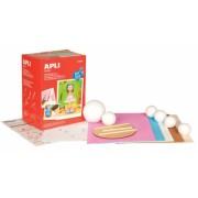 Kit Apli pentru crearea papusii Alice, roz