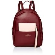 Nanette Lepore Mini bolsa con bloque de color, color vino