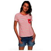 ROXY - tričko KR BAHAMAS COTTAGE A rouge red Velikost: XS