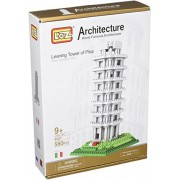 Micro Blocks, Leaning Tower of Pisa Model, Small Building Block Set