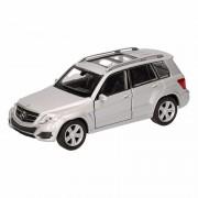 Speelgoed Mercedes-Benz GLK zilver autotje 12 cm