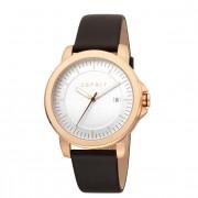 Esprit Reloj de cuarzo de acero inoxidable silver rosegold silver brown