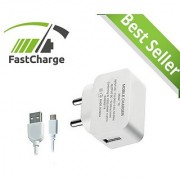 SNT 2.1 Amp Travel Wall Charger Adapter With Micro USB Cable.