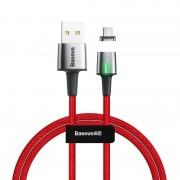 Kabel magnetyczny USB-C Baseus Zinc 2A 2m (czerwony)
