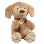 Baby Gund Gund Spunky ABC 123 Doggie Animated Stuffed Animal Plush