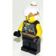 njo467 Minifigurina LEGO Ninjago Hunted-Teen Wu (Sensei Wu) njo467