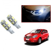 Auto Addict Car T10 9 SMD Headlight LED Bulb for Headlights Parking Light Number Plate Light Indicator Light For Chevrolet Sail UVA