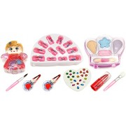 GT My First Make Up Angel Nail Art Pretend Play Toy Make Up Case Kit, Washable, Safe, Non-Toxic