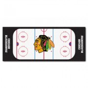 Fanmats NHL Rink Runner Mat NHL Beige Chicago Blackhawks