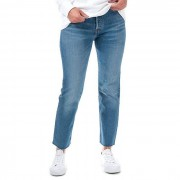 Levis Women's Levis 501 Crop Charleston West Jeans en bleu Denim 26XXS