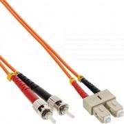 Cablu inline Patchcord światłowodowy SC/ST, 50/125µm, OM2, 10m (82510)