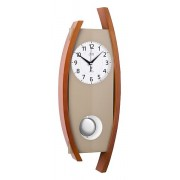 Rádiem řízené dřevěné kyvadlové hodiny JVD NR12092/41 POŠTOVNÉ NEPLATÍTE!!!