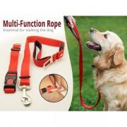 Lesa pentru caini ajustabila Multifunctional Dog Rope