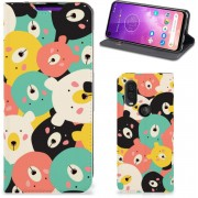 Motorola One Vision Magnet Case Bears