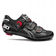 Sidi Genius 5 Fit Carbon Cycling Shoes - Black - EU 36/UK 3 - Black