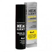 Dermacol Men Agent Beard Oil 4in1 ulei pentru barbă 50 ml pentru bărbați